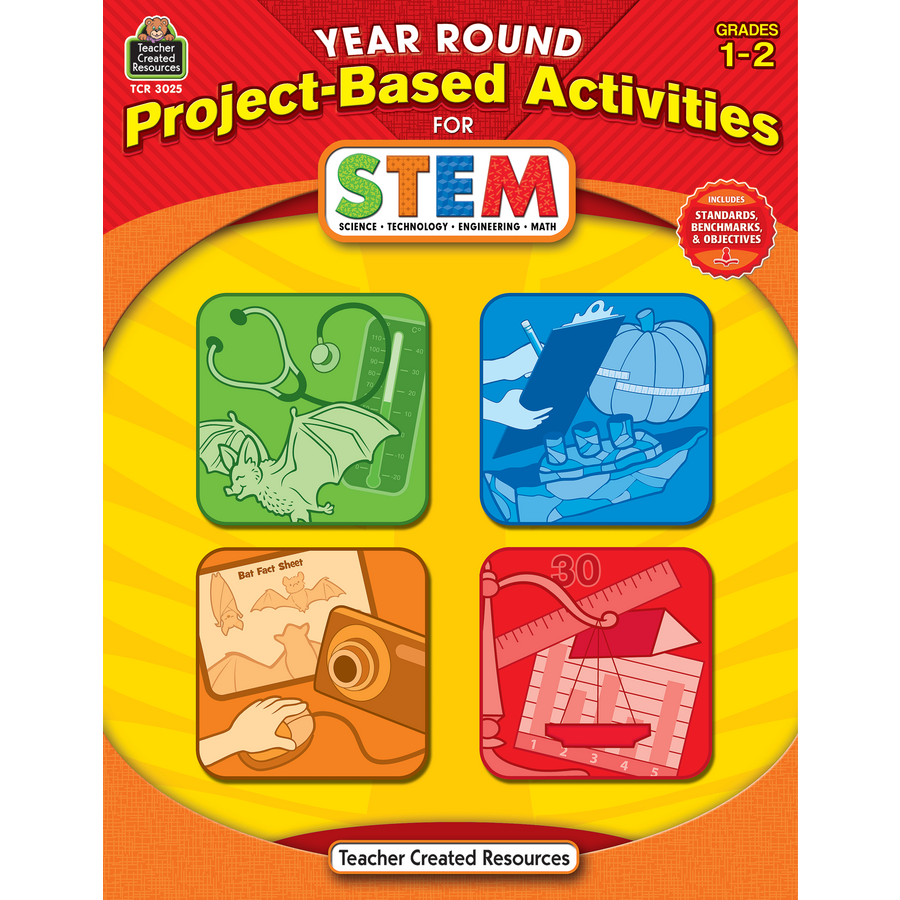 Stem Project Based Learning For Homeschool High School: Year Round Project-Based Activities For STEM Grade 1-2