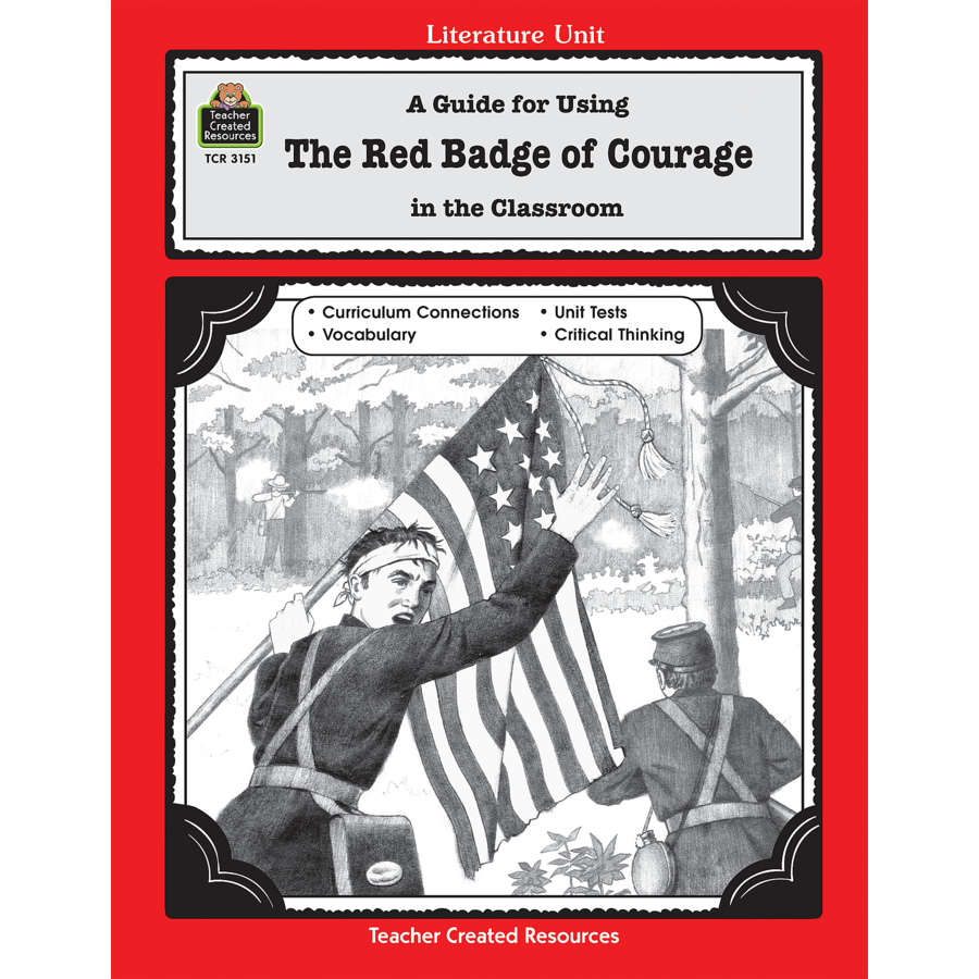critical essays on the red badge of courage The red badge of courage study guide contains a biography of stephen crane, literature essays, a complete e-text, quiz questions, major themes, characters, and a.