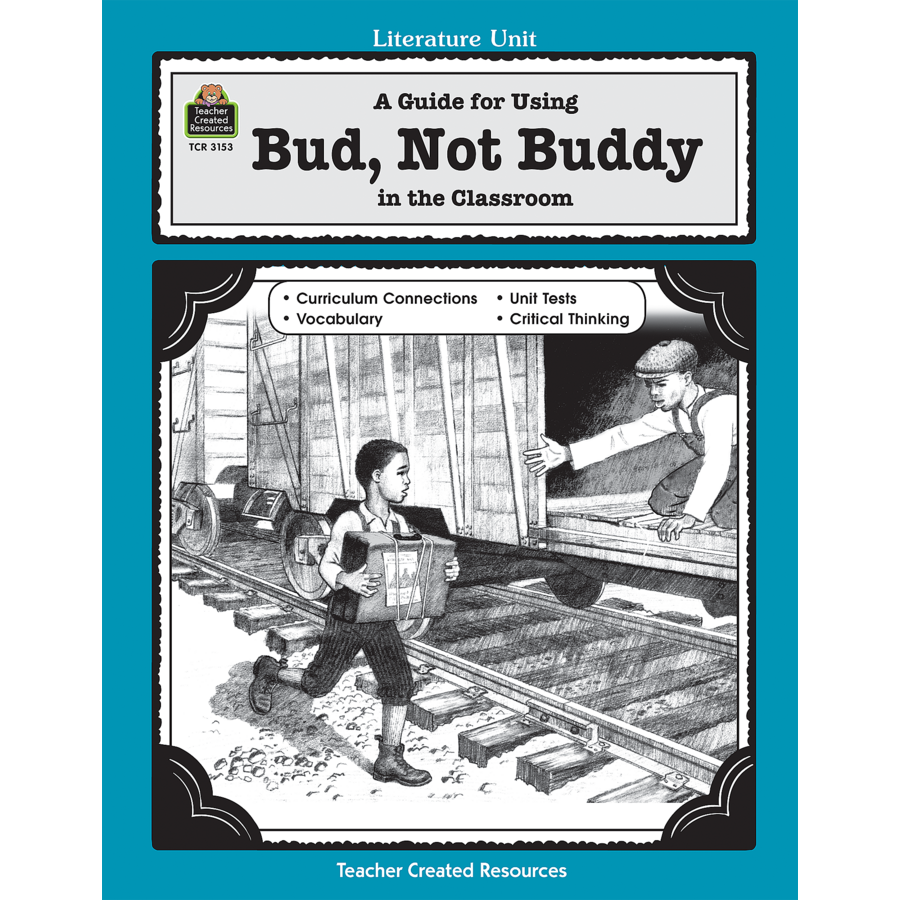 Free Worksheet Bud Not Buddy Worksheets a guide for using bud not buddy in the classroom tcr3153 image