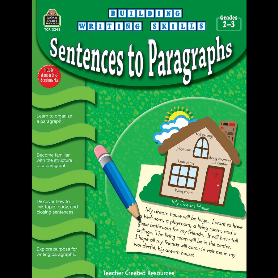 building writing skills sentences to paragraphs tcr tcr3248 building writing skills sentences to paragraphs image