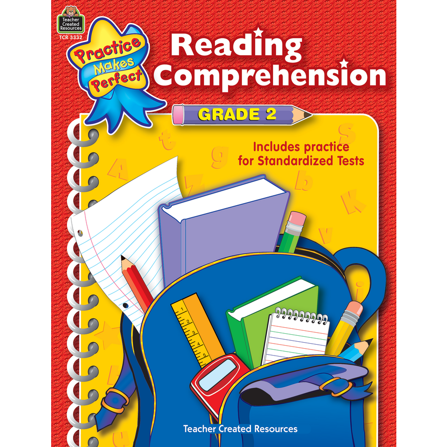 Reading Comprehension Grade 2 TCR3332 – Teacher Created Resources Worksheets