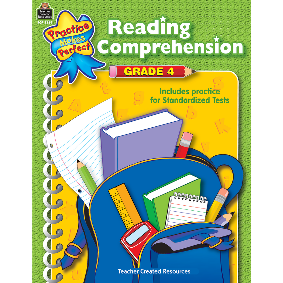 Worksheet Reading Comprehension Grade 4 reading comprehension grade 4 tcr3334 products teacher image