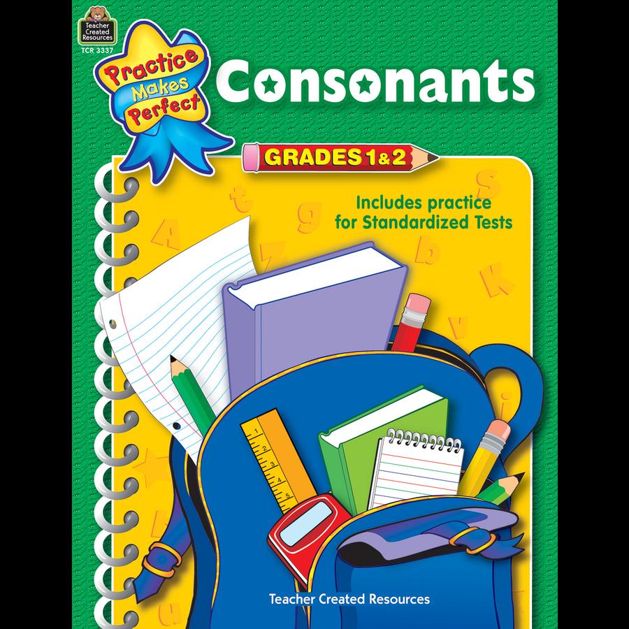 Consonants Grades 1-2 - TCR3337 « Products | Teacher Created ...