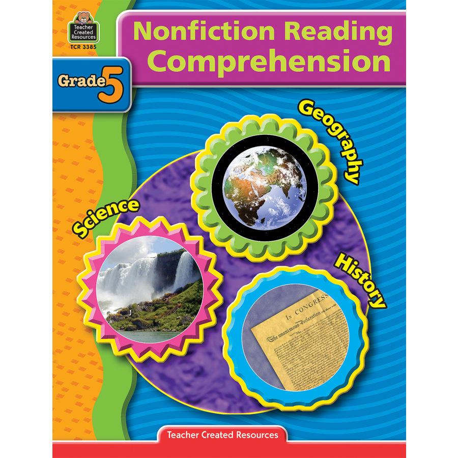 worksheet Nonfiction Reading Comprehension Worksheets nonfiction reading comprehension grade 5 tcr3385 teacher image