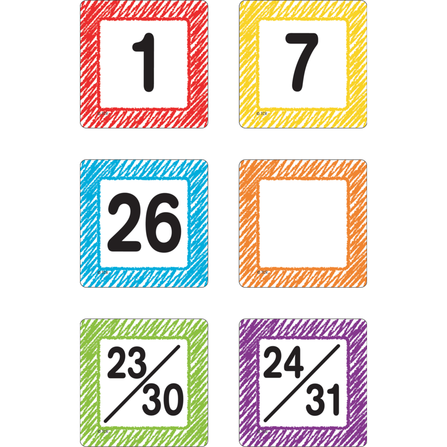 Calendar Days : Scribble calendar days tcr teacher created resources