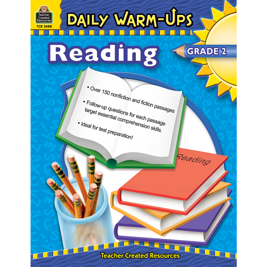 Daily WarmUps Reading Grade 2 TCR3488 – Teacher Created Materials Inc Worksheets