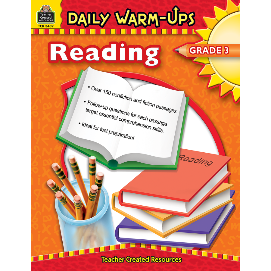 Worksheet Reading Text For Grade 3 daily warm ups reading grade 3 tcr3489 products teacher image