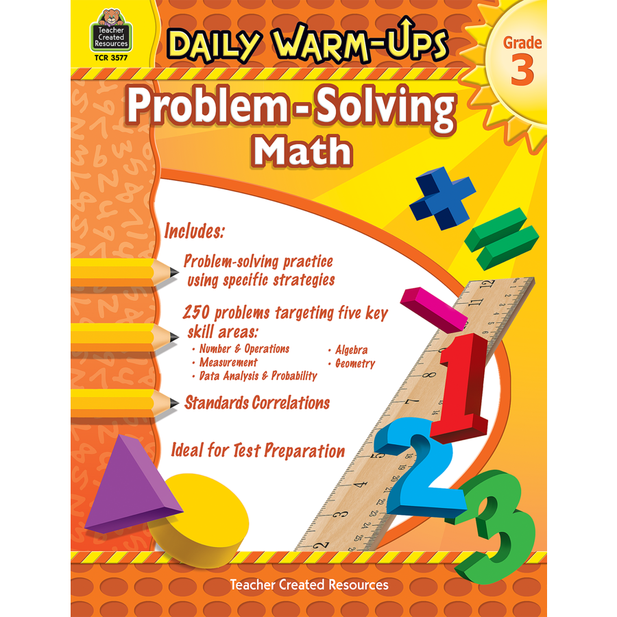 Daily Warm-Ups: Problem Solving Math Grade 3 - TCR3577 « Products ...