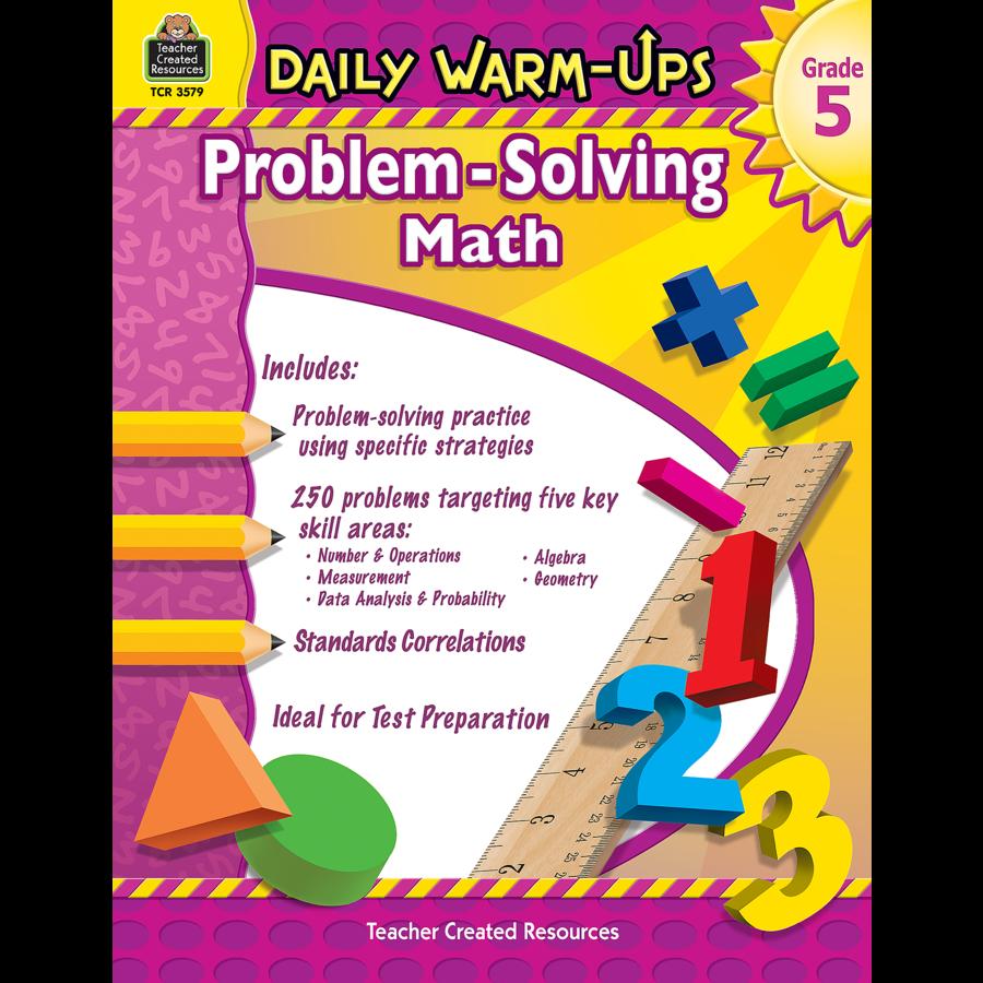 Daily Warm-Ups: Problem Solving Math Grade 5 - TCR3579 | Teacher ...