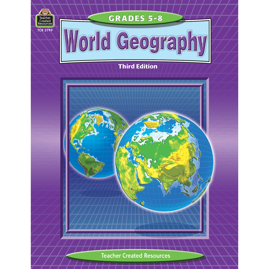 World Geography TCR3799 – Teacher Created Resources Inc Worksheets Answers