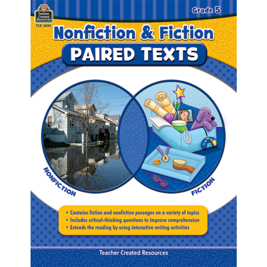 Nonfiction and Fiction Paired Texts Grade 5 TCR3895 – Teacher Created Resources Worksheets