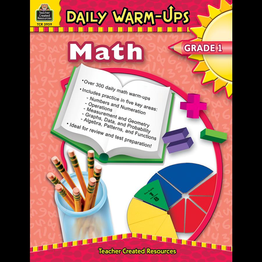Daily Warm-Ups: Math, Grade 1 - TCR3959 | Teacher Created Resources