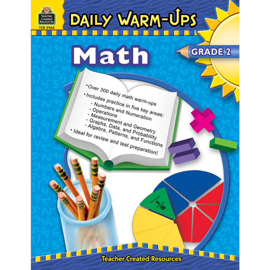 Worksheet 2 Grade daily warm ups math grade 2 tcr3960 products teacher image