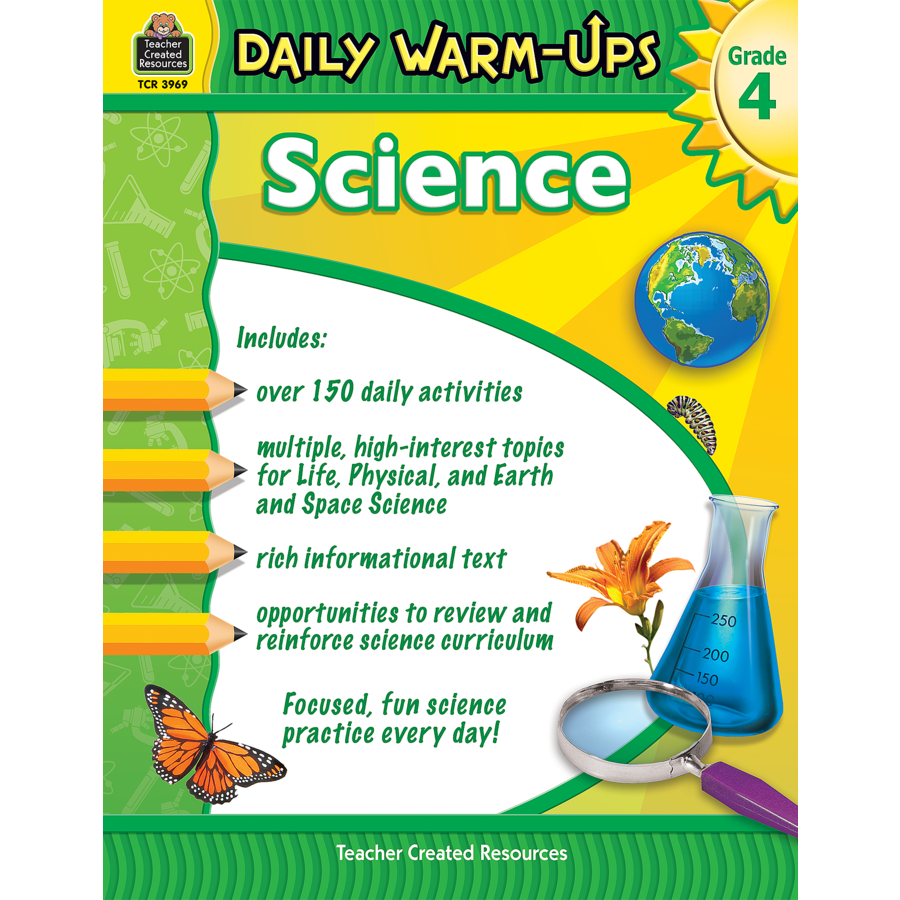 Worksheet Grade 4 daily warm ups science grade 4 tcr3969 products teacher image