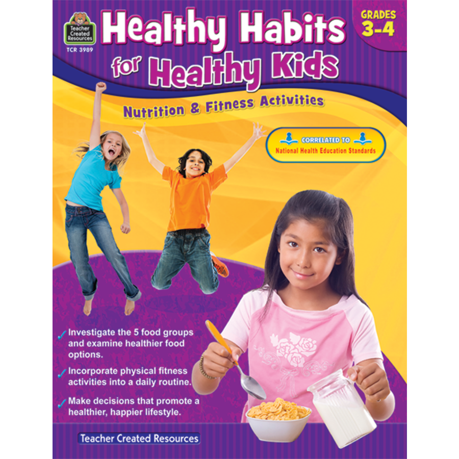 Healthy Habits For Healthy Kids Grade   Tcr  Teacher  Tcr Healthy Habits For Healthy Kids Grade  Image