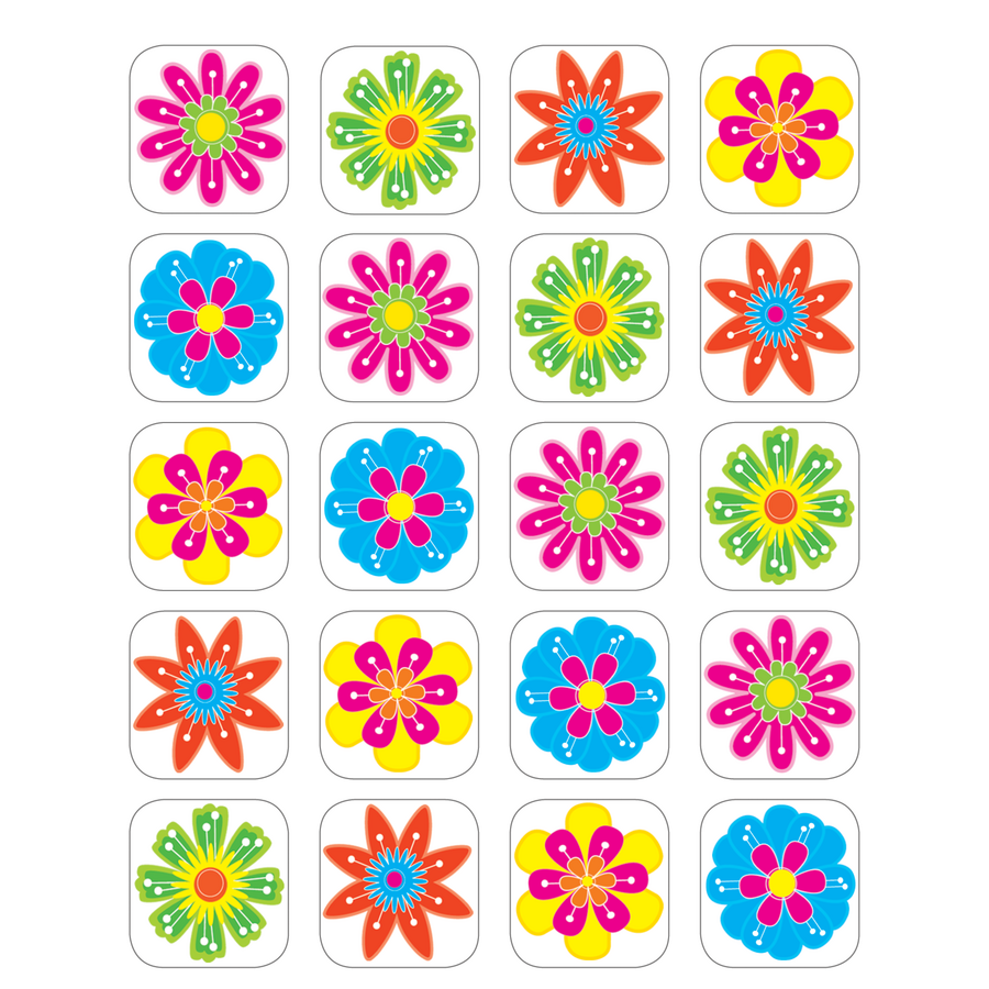 Fun Flowers Stickers 5201 on Latest What Is Technical Writing