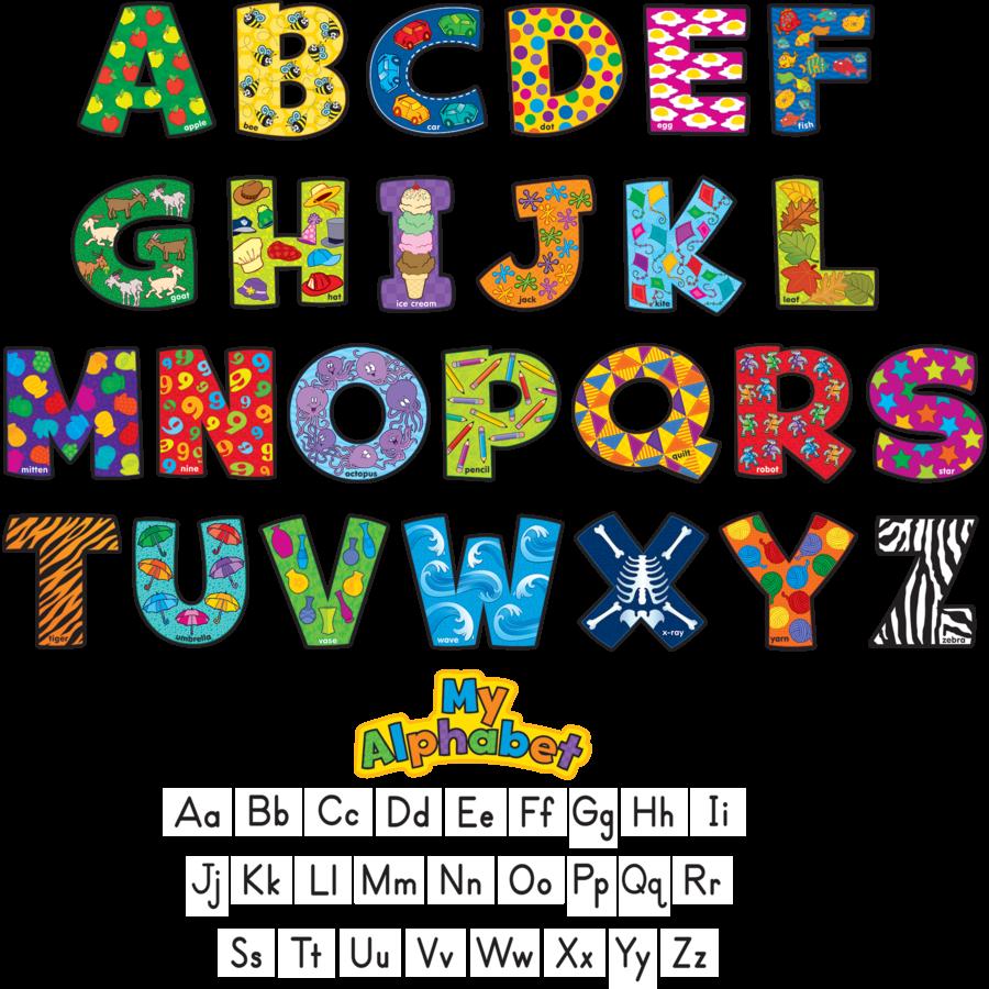 letters for bulletin boards templates - my alphabet mini bulletin board display set tcr5371