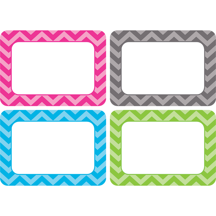 locker tag templates chevron name tags labels multi pack tcr5526 teacher