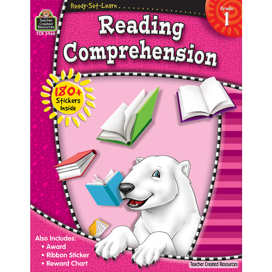 ReadySetLearn Reading Comprehension Grade 1 TCR5968 – Teacher Created Resources Worksheets