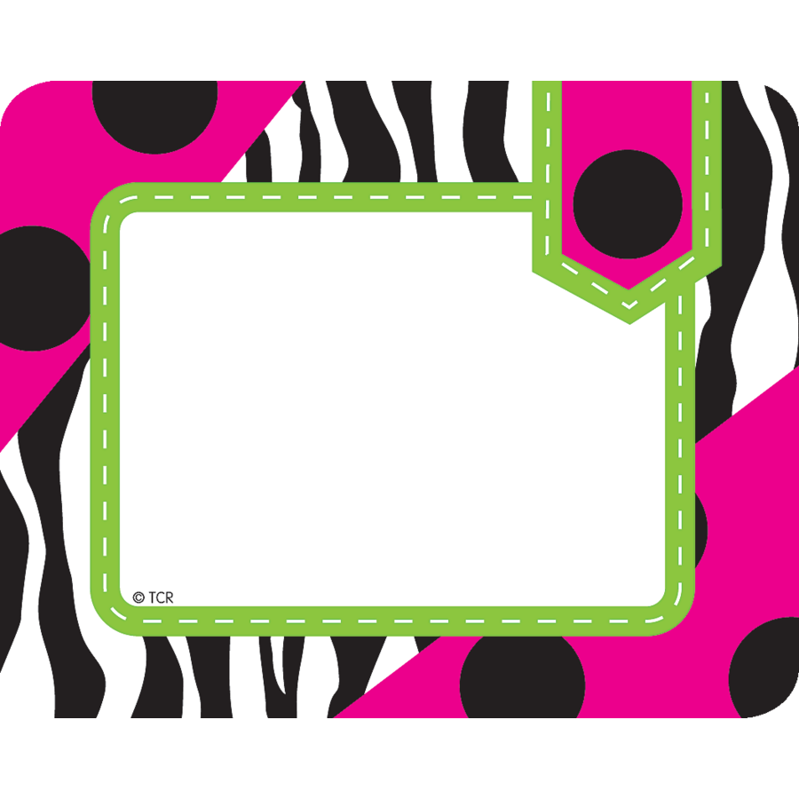 Zebra Labels - TCR70124 « Products | Teacher Created Resources