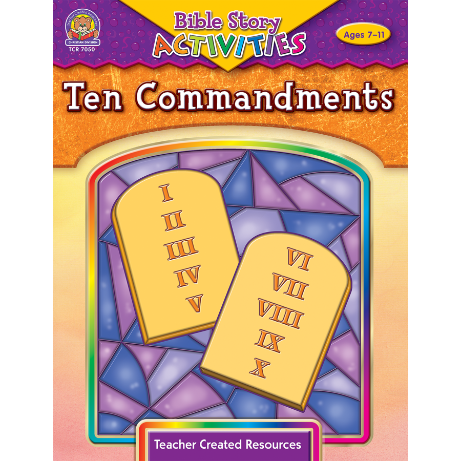 bible 10 commandments games and activities
