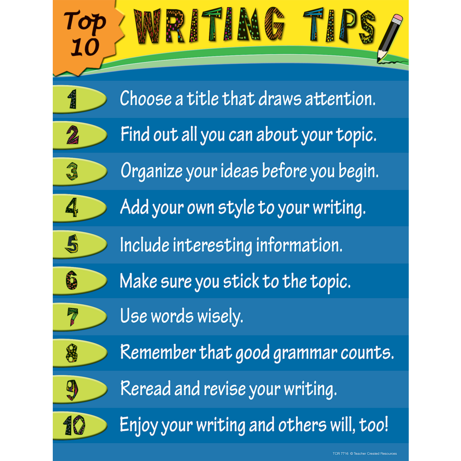 Essay help writing tips in english