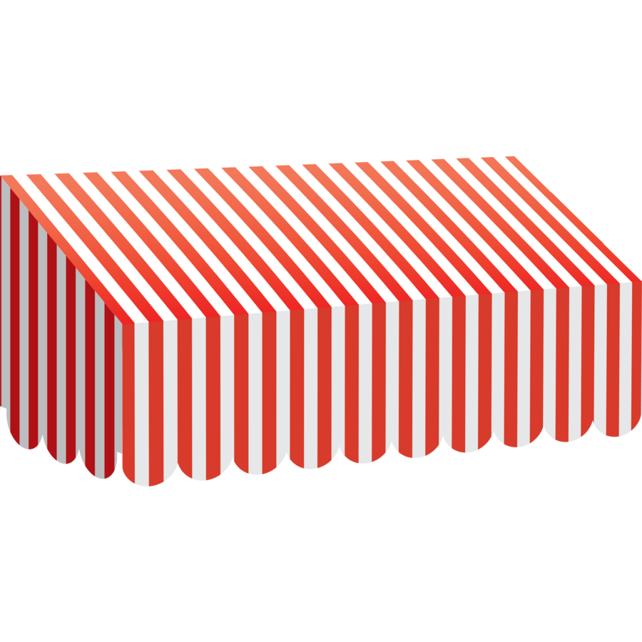 Red Amp White Stripes Awning Tcr77165 Teacher Created