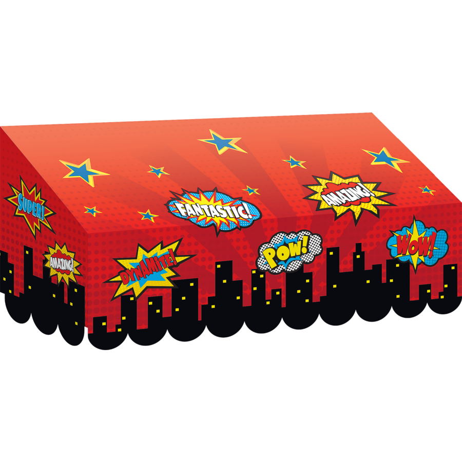 Superhero Awning Tcr77256 Teacher Created Resources