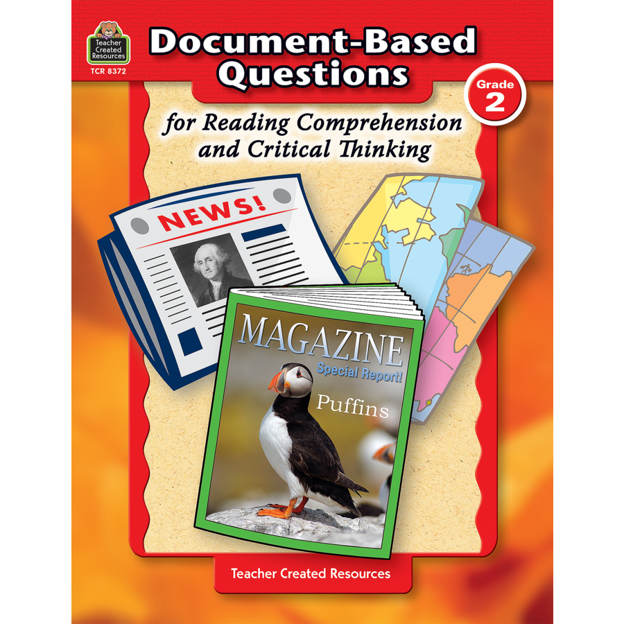 document-based questions for reading comprehension and critical thinking Critical thinking reading and writing test: provides evidence of whether, and   based on the california commission study  interview questions for teachers.