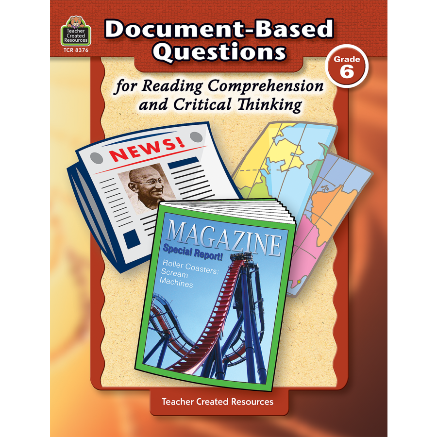 reading passages for critical thinking The critical analysis and reasoning skills section achieves this goal by asking  you to read and think about passages from a wide range of disciplines in the.