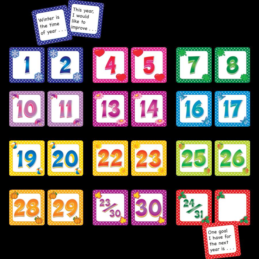 Calendar Days/Story Starters Set (12 pks) - TCR9991 « Products ...