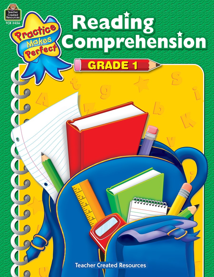 Reading Comprehension Grade 1 - TCR2456 « Products | Teacher Created ...
