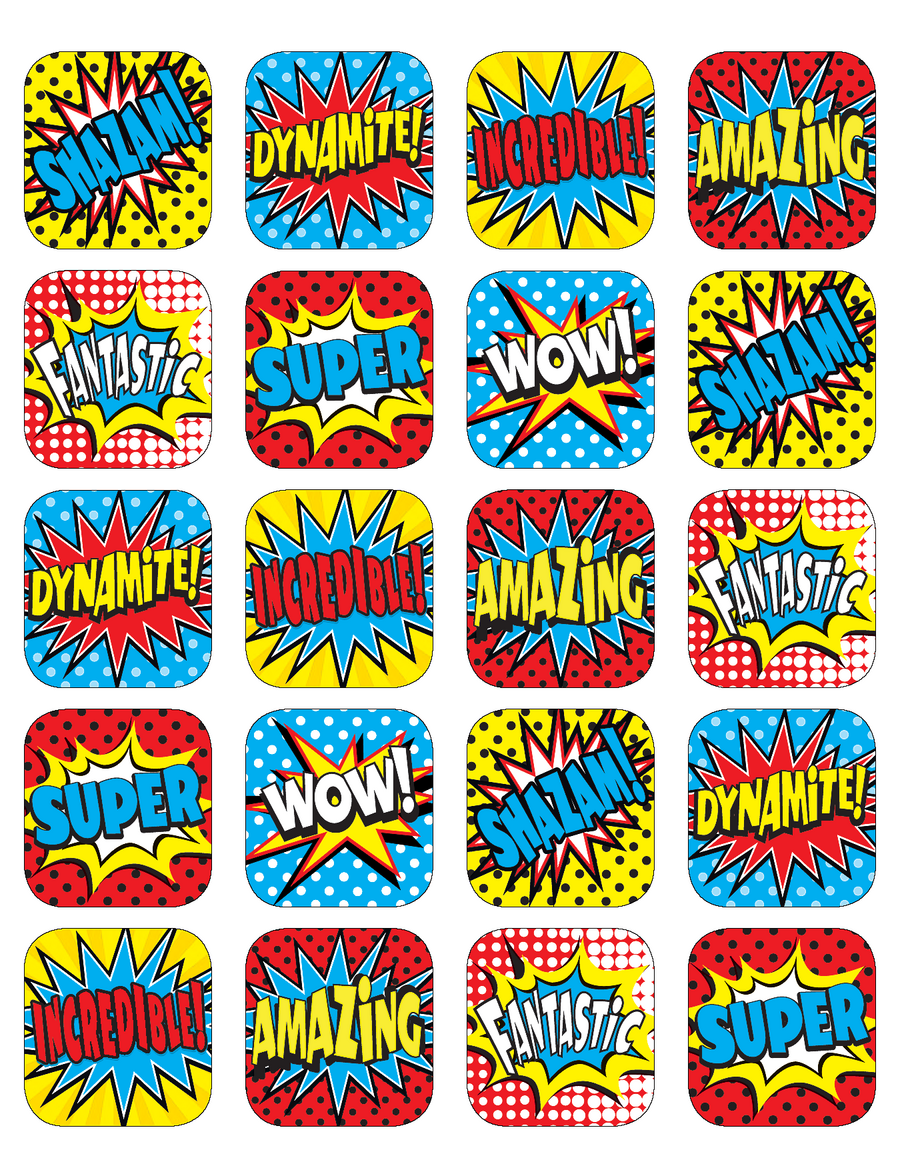Superhero Stickers  Tcr5570 « Products  Teacher Created. Futuristic House Murals. Normal Lettering. Franchise Logo. Cross Stitch Lettering. Emotion Signs Of Stroke. Printer. Ridiculous Decals. Mercury Signs Of Stroke