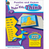 TCR2565 Puzzles and Games that Make Kids Think Grade 5