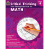 TCR3947 Critical Thinking: Test-taking Practice for Math Grade 4