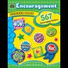 TCR4434 Encouragement Sticker Book