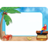 TCR5178 Island Adventure Name Tags/Labels