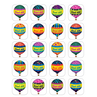 TCR5339 Hot Air Balloons Stickers
