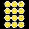 TCR5422 Happy Suns Mini Accents
