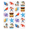 TCR5465 Island Adventure Stickers