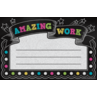 TCR5836 Chalkboard Brights Amazing Work Awards