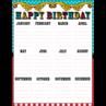 TCR7571 Carnival Happy Birthday Chart