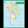 TCR7656 South America Map Chart