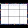 TCR7789 Fireworks Calendar Chart