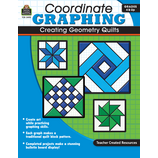 Coordinate Graphing: Creating Geometry Quilts Grade 4 & Up