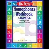 Homophones Workbook by Dr. Fry