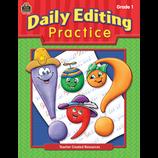 Daily Editing Practice, Grade 1