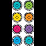 Zebra Happy Faces Mini Stickers