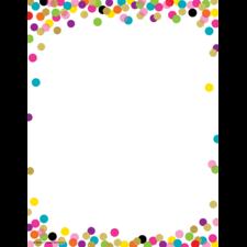Confetti Computer Paper