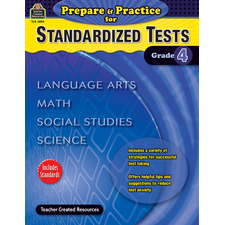 Prepare & Practice for Standardized Tests Grade 4